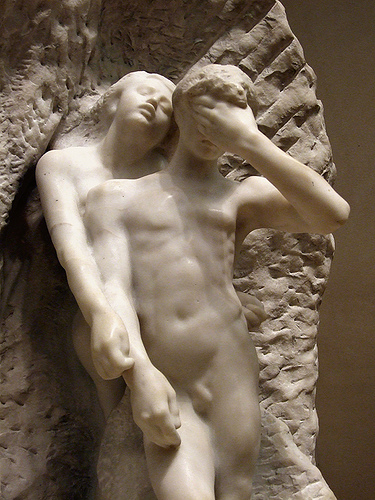 Rodin-Orpheus and Eurydice